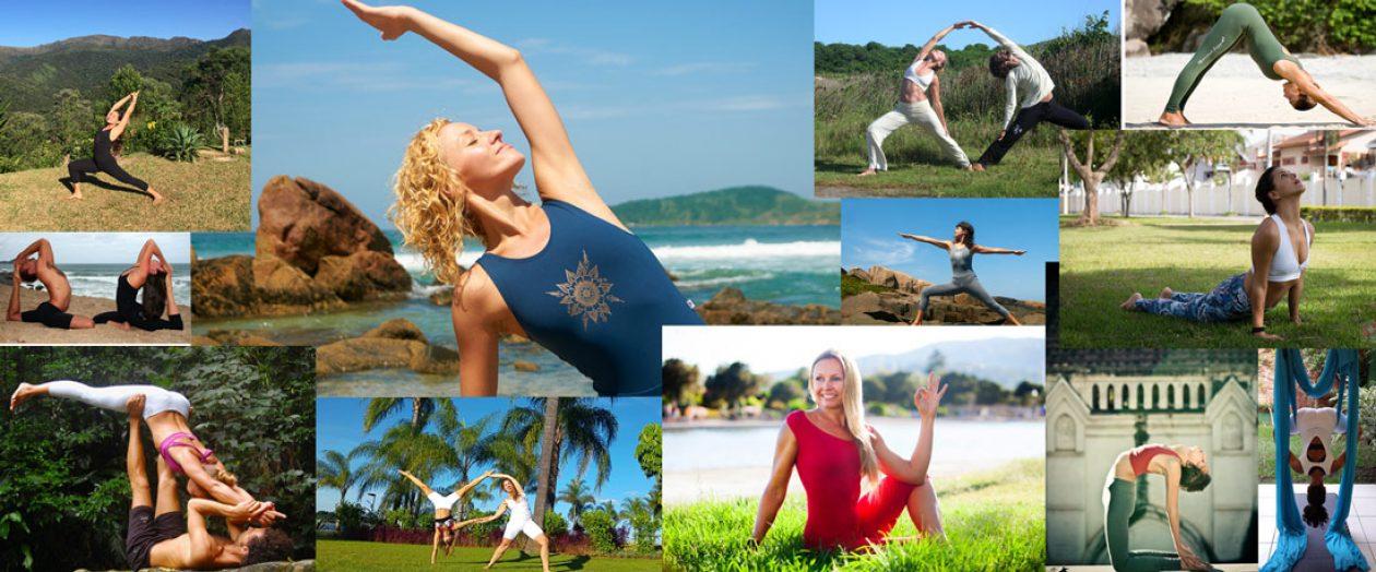 Yogando com a Devi